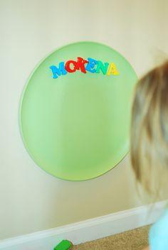 Paint It - Pizza Pan Magnet Boards