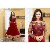 rashmi-desai-exclusive-red-designer-salwar-kameez
