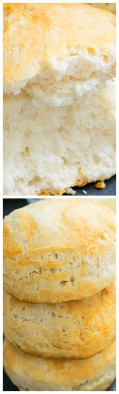 Quick and easy buttermilk biscuits recipe made from scratch and ready in 30 minutes. These homemade biscuits are light and fluffy and soft and flaky. Quick Biscuit Recipe, Quick Biscuits, Homemade Buttermilk Biscuits, Baking Recipes, Yummy Food, Delicious Recipes, Favorite Recipes, Snacks, 350 Degrees