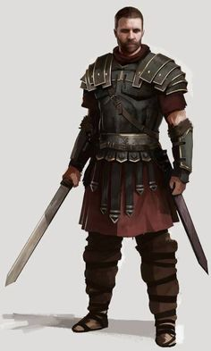 Hector, Candidate for Hellás' Ruler. Fantasy Races, Fantasy Armor, Medieval Fantasy, Character Concept, Character Art, Character Design, Character Costumes, Character Portraits, Imperial Skyrim