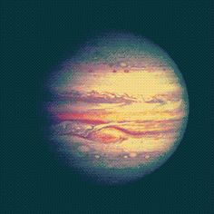 Jupiter is the fifth planet from the sun . It is part of the so-called outer or gaseous planets. Named after the Roman god Jupiter. It is the planet that offers increased brightness over the year depending on its phase.