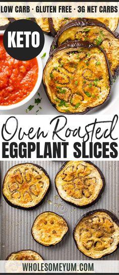 Healthy Recipes, Veggie Recipes, Low Carb Recipes, Vegetarian Recipes, Cooking Recipes, Egg Plant Recipes Healthy, Healthy Low Carb Snacks, Low Carb Side Dishes, Side Dish Recipes
