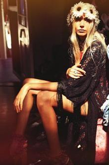 Colourful Hippie Girl by ~jolantajola1 on deviantART - Socialbliss