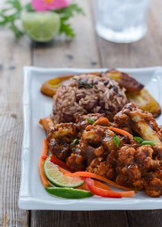 Jamaican Jerk Cauliflower Gluten-Free Cauliflower Jamaican Jerk http://ift.tt/2lJlIce