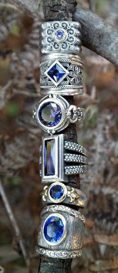 Indigo Blue Boho.Boho Jewelry :: Accessories :: Gypsy Style Flash Tattoos :: Tribal Ethnic Silver :: Earrings + Bracelet + Rings + Necklace :: Beach Boho :: ZAIMARA :: Feathers:: Bohéme :: Bohemio ::