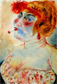 The New Weimar Republic (and a Very Brief and Partial History of Antoine Bourdelle, George Grosz, Degenerate Art, Portrait, The Uncanny, Otto Dix, Art Moderne, Art Abstrait, Kathe Kollwitz