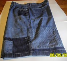 SOUTHPOLE Mens 5 Pocket Relaxed Fit Denim Jean SHORTS Designer Patch sz. 48…