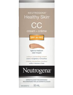 My favourite of the BB/CC Creams so far. I don't like foundation and this gives me great, light coverage. And SPF 30 is fantastic for someone as white as me.