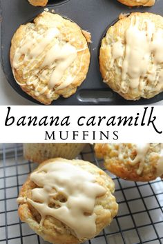 Sweet Desserts, Sweet Recipes, Delicious Desserts, Yummy Food, Cupcake Recipes, Cookie Recipes, Dessert Recipes, Caramel Recipes, Banana Bread Recipes