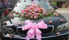 Risultati immagini per wedding car bouquet