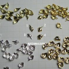 New fancy shell Japanese decorations 25pcs · ocean nails 2 · Online Store Powered by Storenvy