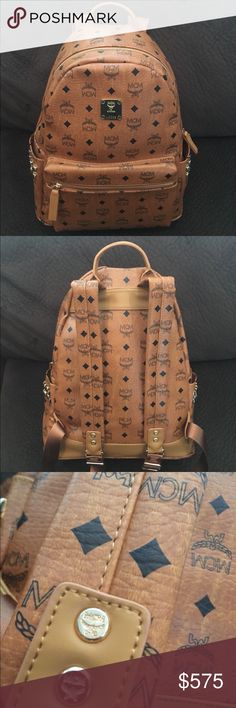 MCM backpack 🔥 Brand new condition, medium size. Has a laptop pocket. Very spacious. Perfect size. MCM Bags Backpacks