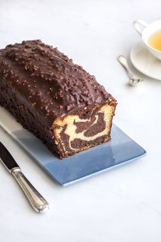 The cake recipe Marbré Marble Cake Recipes, Cupcake Recipes, Baking Recipes, Snack Recipes, Dessert Recipes, Gateau Cake, Travel Cake, Desserts With Biscuits, Cake Factory