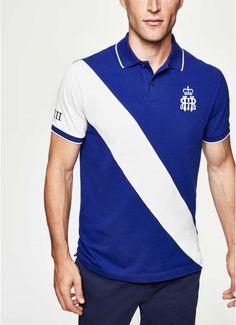 Polos, camisetas y sudaderas - Clothing - Hombre Polo Shirt Brands, Polo Rugby Shirt, Camisa Polo, Blazer And T Shirt, Moda Peru, Henley Royal Regatta, Le Polo, Short Sleeve Polo Shirts, Mens Clothing Styles