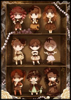 Chocolate box II by meago.deviantart.com on @deviantART