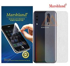 MARSHLAND Matte Finish Back Screen Protector Flexible Anti Scratch Bubble Free Back Screen Guard Compatible for Samsung Galaxy Screen Guard, Ant, Screen Protector, Flexibility, Bubbles, Samsung, It Is Finished, Amazon, Amazons