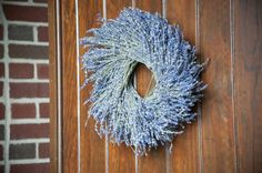 lavender wreaths are an Irish wedding tradition Got it online at Williams and Sonoma