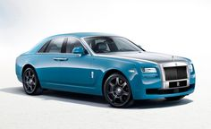2013 #Rolls-Royce Alpine Trial Centenary Collection Ghost: 100 Years of Being the Best [2013 Shanghai Auto Show]