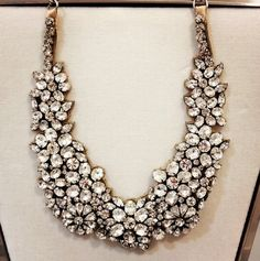 Bling necklace - more lusciousness at http://mylusciouslife.com/a-ladylike-life/