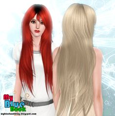 Very long with bangs hairstyle Rose`s 94 retextured by TumTum Simiolino for Sims 3 - Sims Hairs - http://simshairs.com/very-long-with-bangs-hairstyle-roses-94-retextured-by-tumtum-simiolino/
