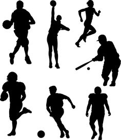 silhouettes   sports silhouettes The Line Between Well Rounded and Over Committed