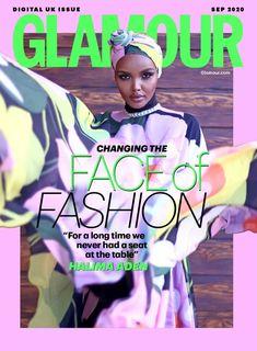Halima Aden Glamour Magazine Uk, Glamour Uk, Designer Casual Shirts, Uk Digital, Haute Couture Dresses, Professional Women, Muslim Women, Casual Street Style, Fashion Books