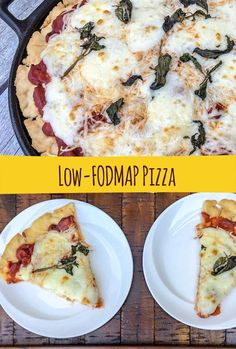 We've created a recipe for low-FODMAP, gluten-free pizza crust that has great crunch! You can top it with our low-FODMAP pizza sauce and your choice of low-FODMAP toppings. Pizza Sin Gluten, Dairy Free Pizza, Fodmap Diet Plan, Low Fodmap, Fodmap Recipes, Diet Recipes, Pizza Recipes, Fodmap Foods, Smoothie Recipes