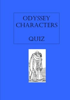 an analysis of the characters of homers the odyssey The odyssey includes an extensive cast list, both human and  we've  condensed the epic narrative of homer's poems the iliad and the.