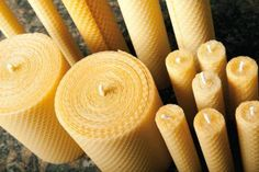 Really want to make my own beeswax candles.