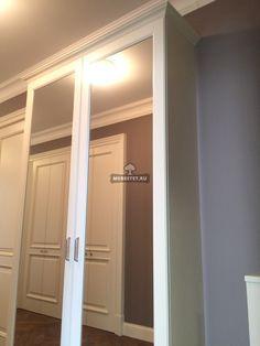 Зеркальные двери в классическом стиле  / Меб Эстет