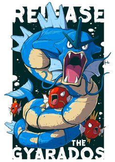 Release the Gyrados - Created by Leandro Cruz Gyrados Pokemon, Pokemon Gyarados, Pokemon Funny, My Pokemon, Flying Type Pokemon, Pose, Team Rocket, Pokemon Pictures, Digimon