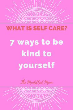 Are people telling you that you should be kind to yourself? Let yourself off the hook? That you are stronger than you know? For a long time people to;d me these things and I had no idea what they were going on about. Lately, I've spent time investing in my mental wellbeing and I've finally discovered how to be kind to myself.