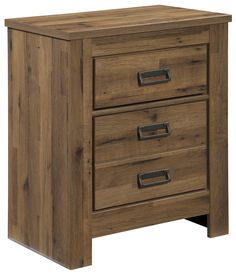 Cinrey Two Drawer Night Stand With 2 USB Chargers By Signature Design By  Ashley At Wayside Furniture