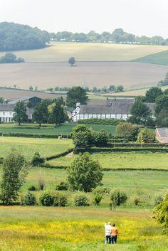 Omgeving Epen * Uitzicht op Camping Oosterberg * Zuid-Limburg