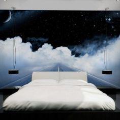 Amazing Night Sky Wall Murals