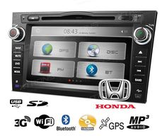 Autoradio para Honda CRV 8 pulgadas con GPS y 3G