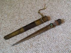 Ethnographic Arms & Armour - Nice Older Bhutanese Dossum Dagger