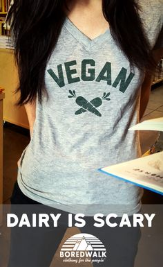 Plant-based. Vegan. Dairy-free. However you say it, say it with pride. Click the image to purchase. Free U.S. shipping.