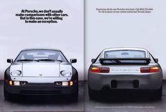 Porsche 928 ad (partial)