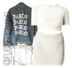 PABLO•PABLO•PABLO by fuckedchanel on Polyvore featuring polyvore, fashion, style, NYX and clothing