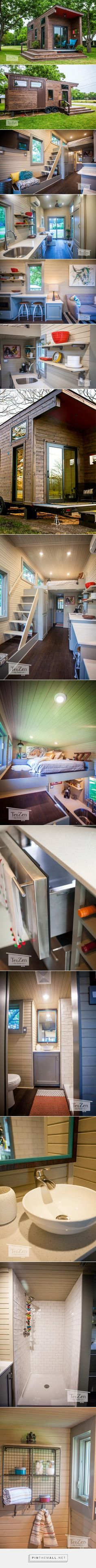 Single Loft by TexZen Tiny Home Co. - Tiny Living... - a grouped images picture - Pin Them All