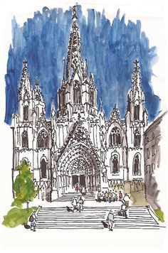 Barcelona. Catedral de la Santa Creu i Santa Eulàlia by Txema Raudona, via Flickr