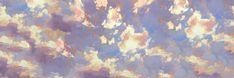 Imagem de clouds, header, and art Twitter Header Pictures, Cute Twitter Headers, Cute Headers, Twitter Banner, Twitter Backgrounds, Twitter Layouts, Header Twitter, Twitter Cover Photo, Fb Cover Photos