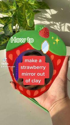 Polymer Clay Crafts, Diy Clay, Polymer Clay Ring, Diy Deco Rangement, Clay Art Projects, Ideias Diy, Cute Clay, Fun Diy Crafts, Air Dry Clay