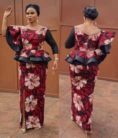 Don't you think it's the best time for you to get some enchanting Ankara styles for yourself. The Ankara styles below are so magnificent and their styles are magical. Checkout these enchanting ankara styles and enjoy the beauty of the cold weather. African Maxi Dresses, Latest African Fashion Dresses, African Dresses For Women, African Print Fashion, African Attire, African Prints, Latest Ankara Dresses, Nigerian Fashion, Ankara Gowns