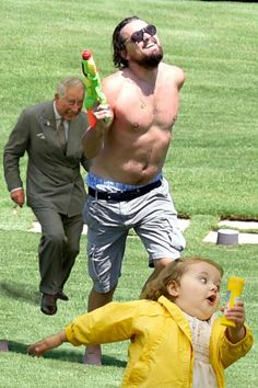 The Best 'Leonardo DiCaprio Running Shirtless With A Watergun' Memes