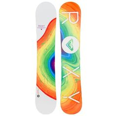 Save on Roxy Banana Smoothie Snowboard - Women's. Embrace the freedom of fresh tracks. A freerider's dream, the Banana Smoothie EC. Roxy, Best Snowboards, Snowboard Design, Snowboarding Women, Water Photography, Windsurfing, Winter Fun, Voss Bottle, Hip Hop