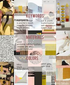 TRENDS // ECLECTIC TRENDS - A/W 2016/17 GLOBAL COLOR RESEARCH . SELF EXPRESSION - PART III