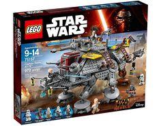 LEGO Star Wars TM - AT-TE del capitán Rex por 112,50 € Esperemos que los reyes magos y papa noel no dejen pasar esta oportunidad que es capaz de contentar tanto a los amantes de Lego, como a los de la mítica saga de Star Wars,   #juguetes #lego #star wars
