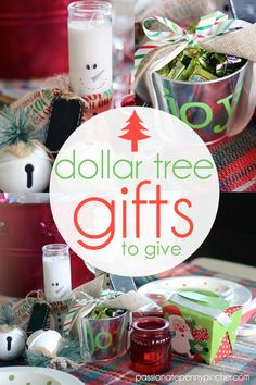 Dollar Tree Gifts to Give. Passionate Penny Pincher is the source printable & online coupons! Get your promo codes or coupons & save. Inexpensive Christmas Gifts, Frugal Christmas, Neighbor Christmas Gifts, Dollar Tree Christmas, Diy Christmas Gifts For Family, Christmas Gift Baskets, Xmas Gifts, Diy Gifts, Christmas Crafts